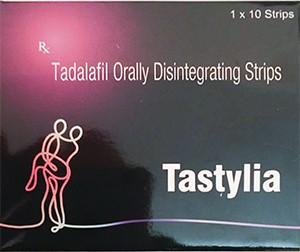Tadalafil Tastylia orally disintegrating strips