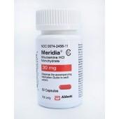 Meridia Brand (Sibutramine) 30mg packing 50 Capsules B