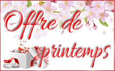 Offre fantastique - PRINTEMPS 2018
